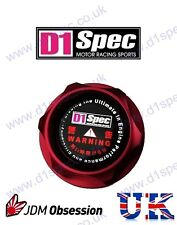 D1 SPEC FORGED OIL FILLER CAP RED FOR LEXUS ALTEZZA IS200 IS250 CT200 JDM