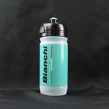 Elite X Bianchi CORSA Passione Bike Bicycle Cycling Water Bottle 550ml - Celeste