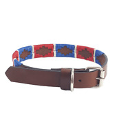 1bbcae14bcc1 Western-Speicher Dog Collar Leather Black Indi 05 Size 22-24 3/8in ...