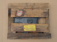 Wood Foundry Pattern Antique Industrial Machinery Gear Wheel w/ Original Box