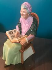 "Vintage Royal Doulton ""The Family Album"" Grandmother Figurine 1965 Hn 2321"