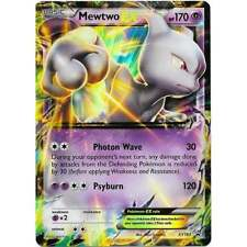 Pokemon Mewtwo Ex XY183 Holo Rare Black Star Promo Card