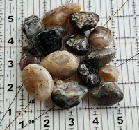 1/2 lb Tumbled natural quartz crystal Geodes