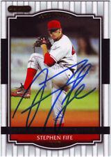 2008 Razor Stephen Fife #34 Auto Autograph - Boston Red Sox