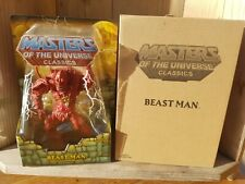 Motuc Beast Man Master Of Universe Mattel He Man
