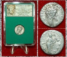 Roman Empire Coin SEPTIMIUS SEVERUS Fortuna On Reverse Silver Denarius