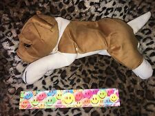 CHINESE SHARPEI / BULLDOG / BOXER ? SOFT CUDDLY LIGHTWEIGHT PLUSH PUPPY DOG NWOT
