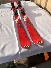 USED DYNASTAR SKIS AGYL 8 160 CM HAND TUNED BASE WAXED W/TYROLIA BINDINGS NICE!