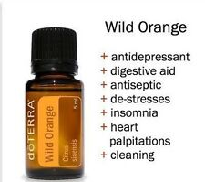 doTERRA Wild Orange Essential Oil 5ml Uplifting Energizing Cooking