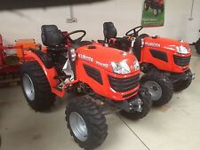 Kubota B1620 Traktor Kleintraktor mit Industriebereifung