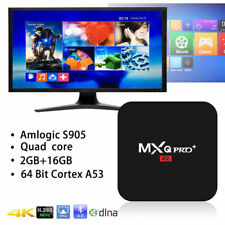 MXQ PRO+ Amlogic S905X Android 7.1 BT 2.4G/5G WIFI 3D 4K 2+16GB Smart TV BOX