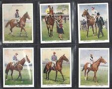 WILLS - RACEHORSES & JOCKEYS 1938 - FULL SET OF 40 CARDS
