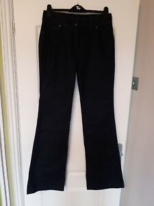 Next Extra Long Wide Leg Jeans. Dark indigo Denim 12XL