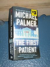 The First Patient by Michael Palmer FREE SHIPPING 031293775X