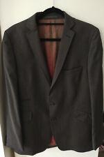 Grey striped 100% wool blazer Ted Baker Endurance size 42R