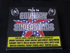 Various - This Is Country Superstars (2 x CD) JOHNNY PAYCHECK KENNY ROGERS