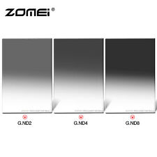ZOMEI 4X6in Glass Soft Graduated ND248 Neutral Density Filter kit for Cokin Z