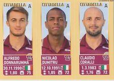 N°641 DUMITRU - CORALLI # AS.CITTADELLA ITALIA CALCIATORI 2014 PANINI STICKER