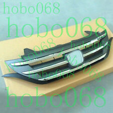 A SET For Honda CRV 2012-14 Car Front Bumper ABS Cover Grid Trim Grille Decorate