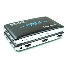 Zettaguard 1 x 2 HDMI Splitter 1 In 2 Out Digital 1X2 Switch with Full HD
