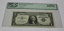 Fr 1620 1957 A One Dollar Star Note $ 1 Silver Certificate PCGS Graded 64 VC New