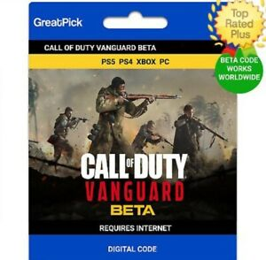 Call of Duty Vanguard Early Access Betas Code CoD - Xbox / PS4 / PS5 / PC