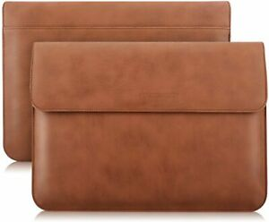 """Leather Envelope For Apple iPad Pro 12.9"""" 2021 Sleeve Case Cover Document Pocket"""