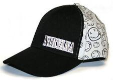 Official Nivana-sourire-gris/noir casquette de baseball