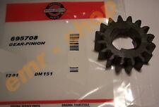 Orig. Anlasserritzel / Ritzel für Briggs & Stratton Anlasser - 695708 - 16 Zähne