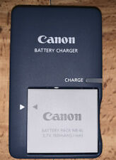 Canon CB-2LV Battery Charger With One NB-4L