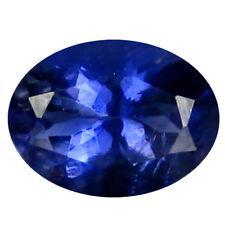 0.65 ct AAA Stunning Oval Shape (7 x 5 mm) Blue Iolite Natural Loose Gemstone