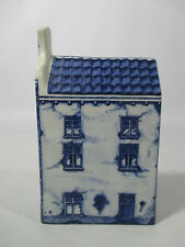 More details for delft blue hand painted pottery canal house
