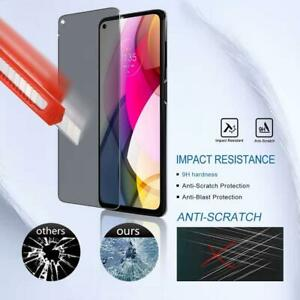 for Motorola Moto G Stylus 2021 NEW Full Coverage Glass Privacy Screen Protector