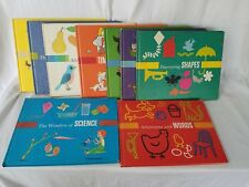 Vtg First Adventures in Learning 9 Book Set Britannicas Pre-School Library 1970