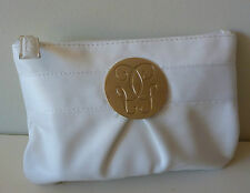 1x GUERLAIN Signature White Makeup Cosmetics Bag, Brand NEW! 100% Genuine!!