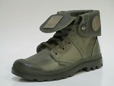 Palladium Men's Pallabrouse Baggy L2 Leather Combat Boots Brand New