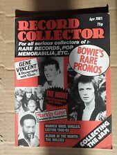 Record Collector # 20  april 1981 gene vincent, the move, marvin gaye,bowie