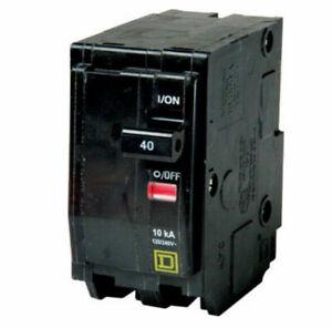 Square D 40 Amp Circuit Breaker QO240 2-Pole New