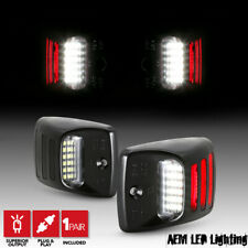 [Red LED Sequence Tube] 2005-2015 Toyota Tacoma Tundra SMD License Plate Lights