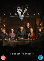 Vikings: Season 4 - Volume 1 DVD (2016) Travis Fimmel BRAND NEW SEALED