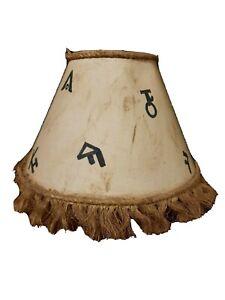 Western Cowboy Lamp Shade
