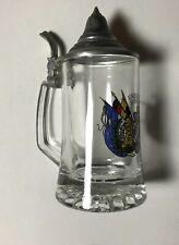Chope à bière en verre sérigraphié FREISTAAT BAYER