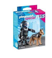 PLAYMOBIL 5369 SPECIAL PLUS - POLICIA CON PERRO - TACTICAL POLICE DOG UNIT