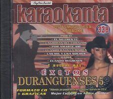 La Apuesta Patrulla 81 Montez De Durango  Duranguenses 5 Karaoke Nuevo Sealed