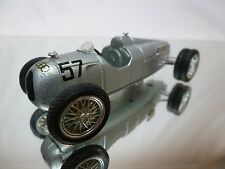 BRUMM AUTO UNION TYPE C 1936 FORMULA RACE CAR -  No 57 - F1 SILVER 1:43 - GOOD