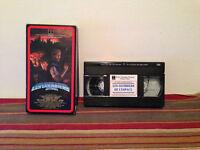 Les guerriers de l'espace VHS tape & sleeve FRENCH RARE