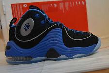 Entièrement neuf dans sa boîte Hommes Nike Air Penny II Bleu/Noir Basket-ball Baskets Taille UK 6 EUR 40