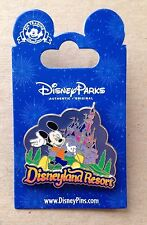 Disney Pin 107867 NEW DLR Mickey Mouse Storybook Night w/ Sleeping Beauty Castle