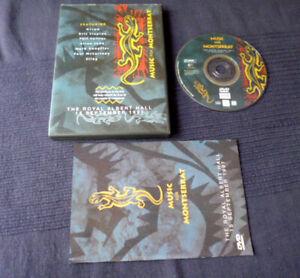 DVD Music For Montserrat STING Elton John Knopfler McCartney Clapton Phil Collin