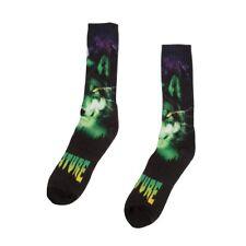 Creature Spirit Shroud Mini Crew Skateboard Socks 1 Pair Black